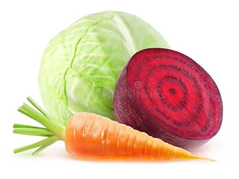 Verduras frescas aisladas foto de archivo