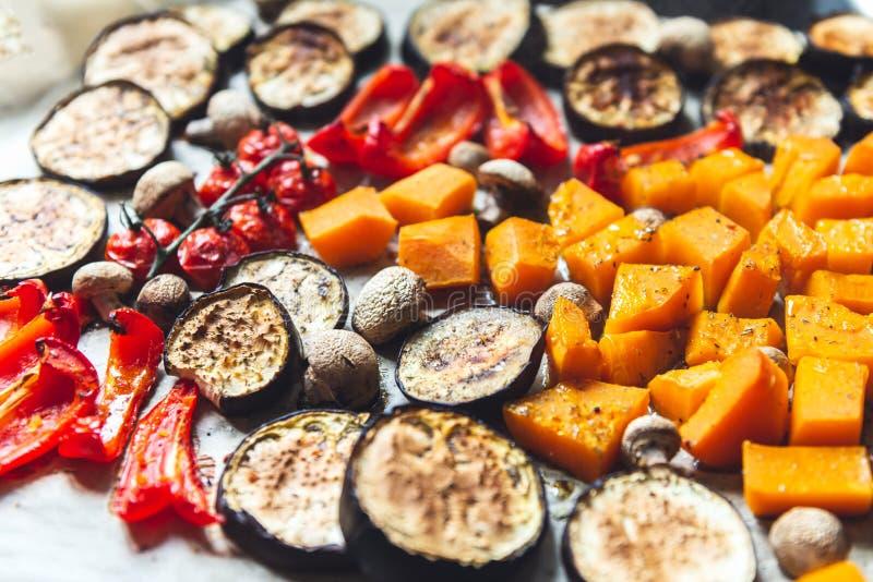 Verduras frescas asadas fotos de archivo libres de regalías
