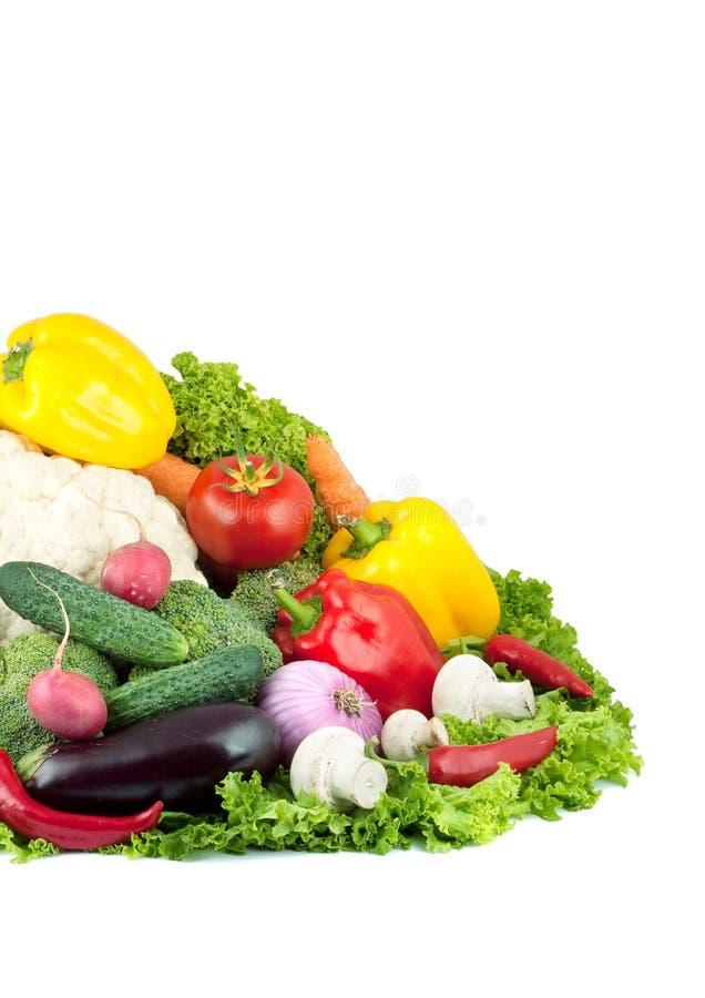 Verduras frescas clasificadas imágenes de archivo libres de regalías