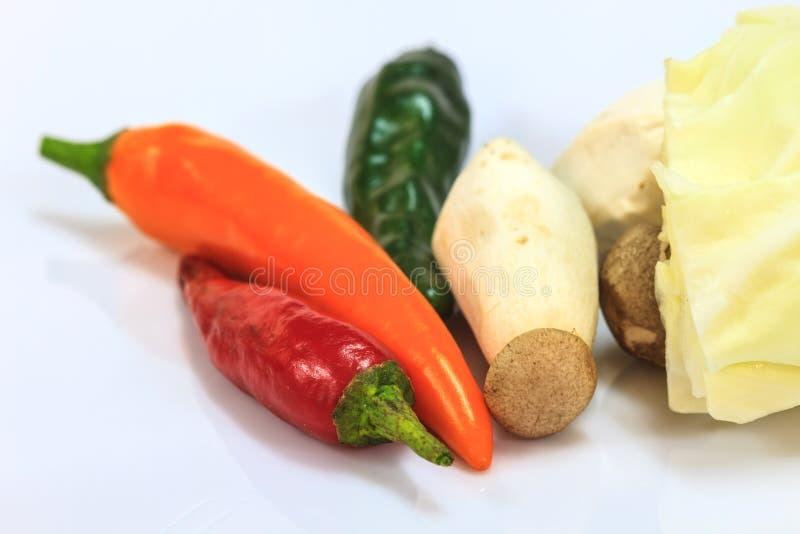 Verduras frescas para cocinar imágenes de archivo libres de regalías