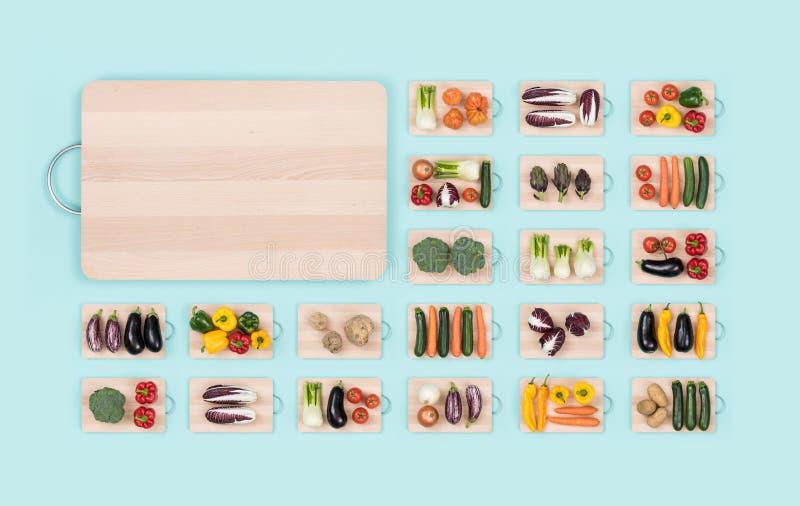 Verduras frescas y consumición sana foto de archivo libre de regalías