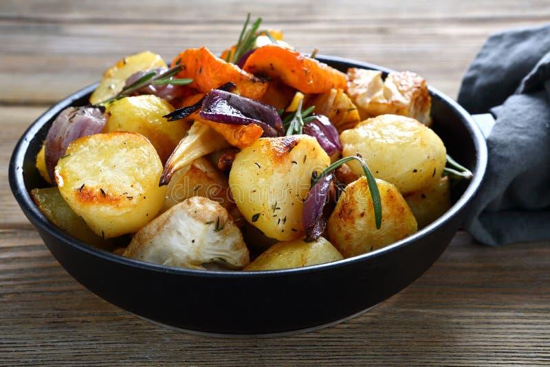 verduras Horno-cocidas imagen de archivo