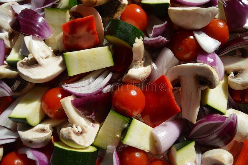 Verduras mediterráneas frescas fotografía de archivo libre de regalías