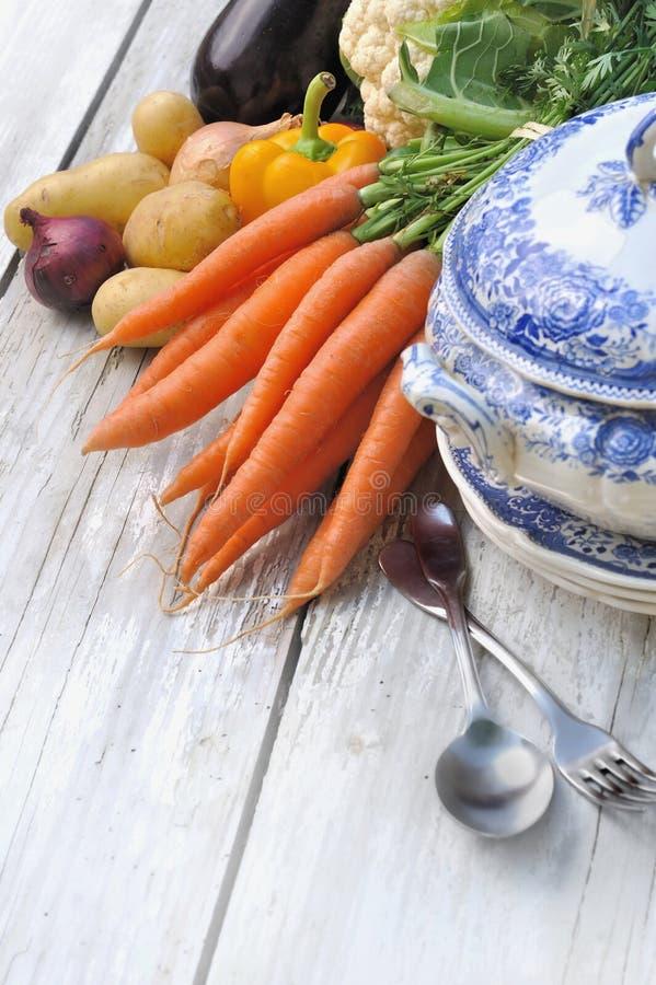 Verduras para el potage imagen de archivo