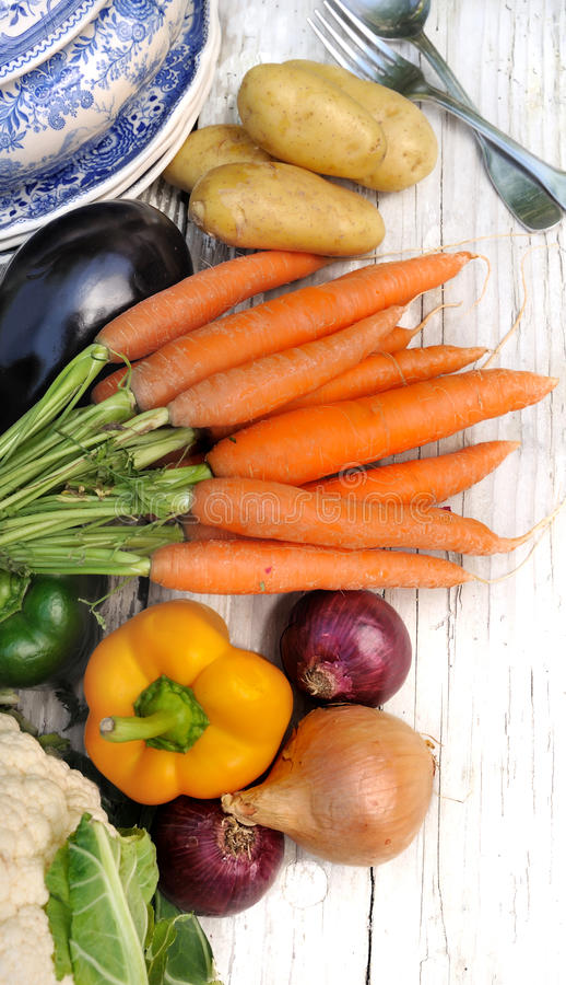 Verduras para el potage foto de archivo libre de regalías