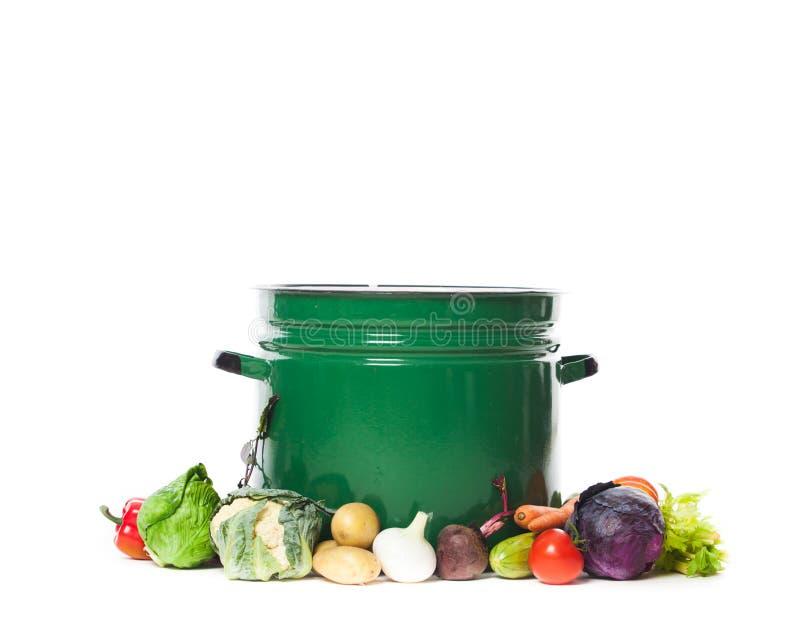 Verduras para la sopa foto de archivo libre de regalías