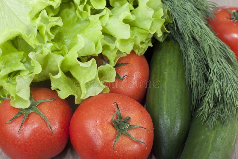 verduras para las ensaladas. imágenes de archivo libres de regalías