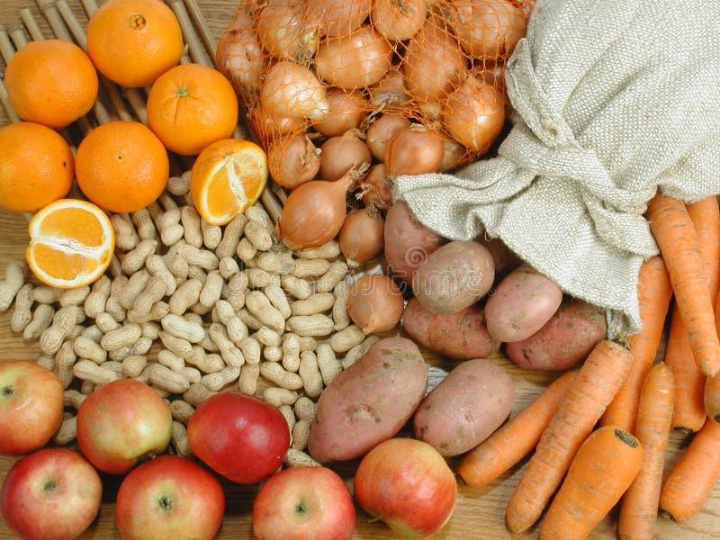 Verduras, todavía de la fruta vida fotos de archivo libres de regalías