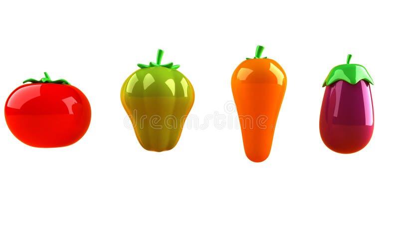 Verdure illustrazione di stock