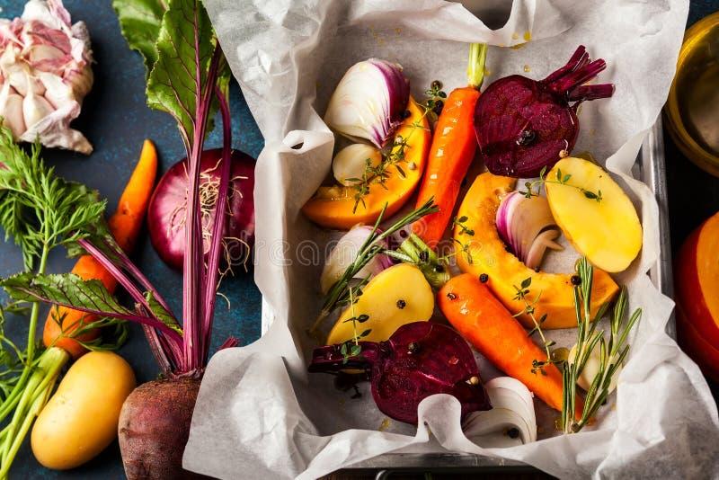 Verdure arrostite forno fotografie stock