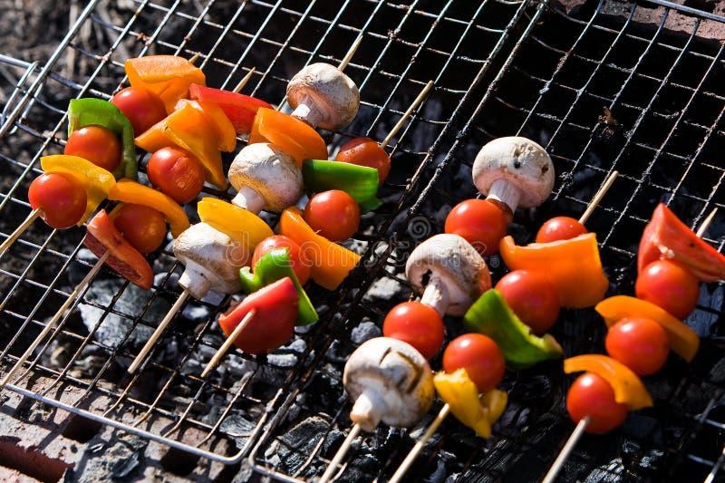 Verdure del barbecue fotografia stock
