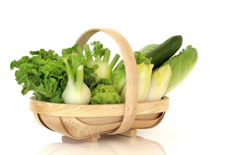 Verdure di insalata immagine stock libera da diritti