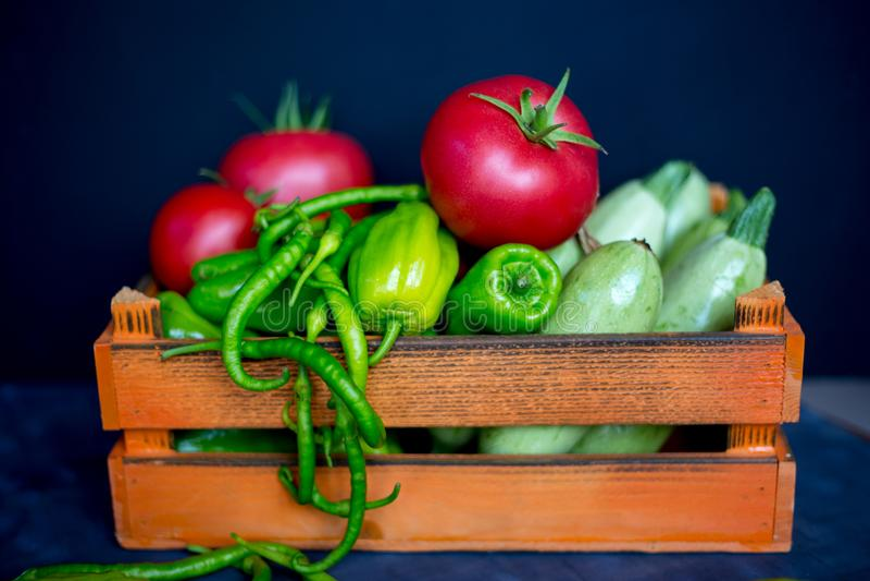 Verdure fresche dal mercato fotografie stock libere da diritti