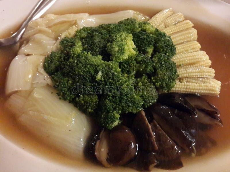 verdure mixed Mescolare-fritte immagini stock