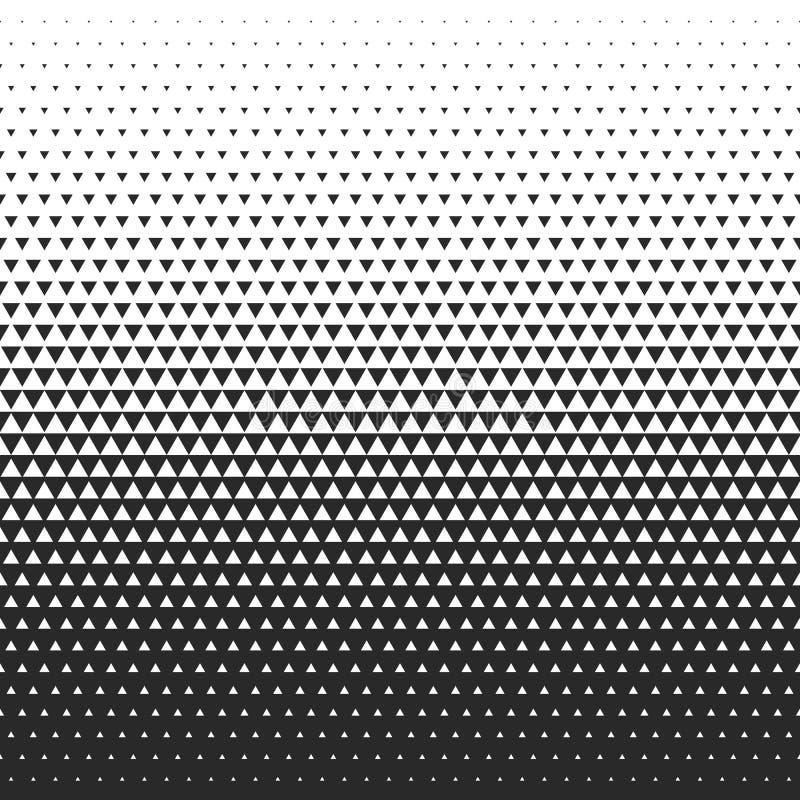 Verdwijn gradiëntpatroon langzaam Vectorrang naadloze achtergrond royalty-vrije illustratie