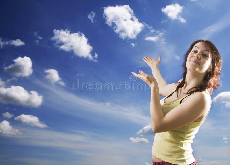Verehrung des Himmels lizenzfreie stockfotos