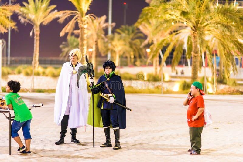 Vereinbarung 2015 Zündung Bahrain stockfotografie
