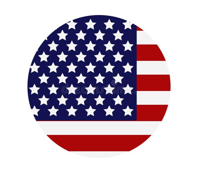 Vereinigte Staaten kennzeichnen lizenzfreie abbildung
