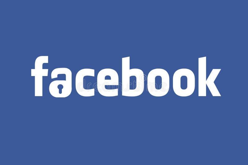 VEREINIGTE STAATEN, am 30. September 2018 - Illustrationsidee für Facebook, das 50 Million Benutzer aufdeckt, kompromittierte im  vektor abbildung