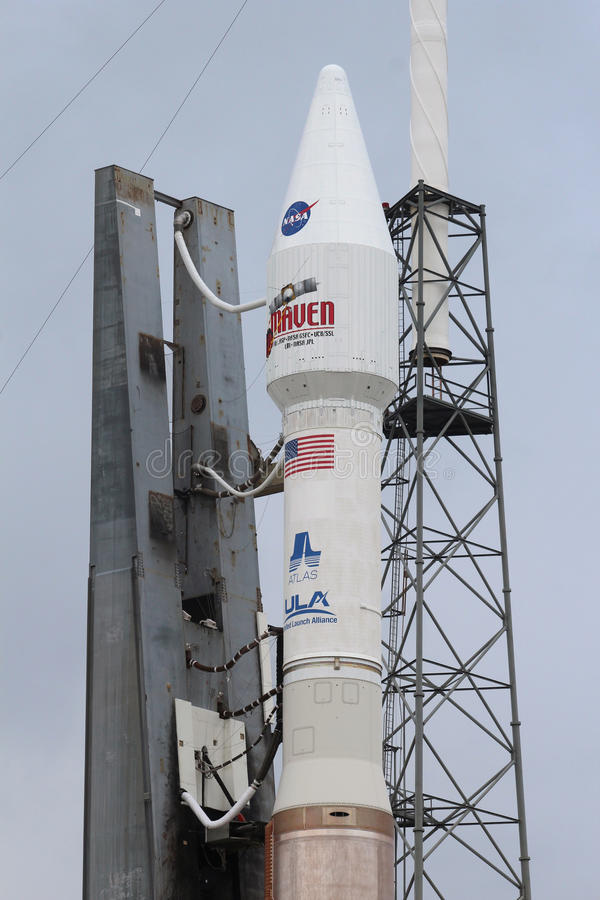 Vereinigter Produkteinführungs-Alliance-Atlas V Rocket stockbilder