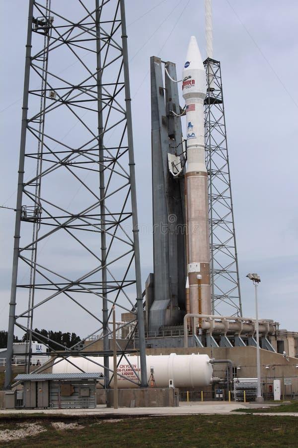 Vereinigter Produkteinführungs-Alliance-Atlas V Rocket stockbild