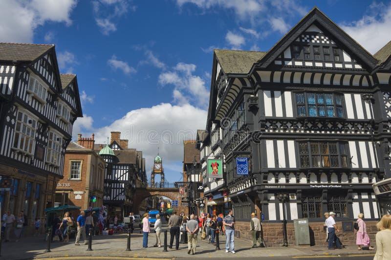 Vereinigtes Königreich - Chester stockfotos