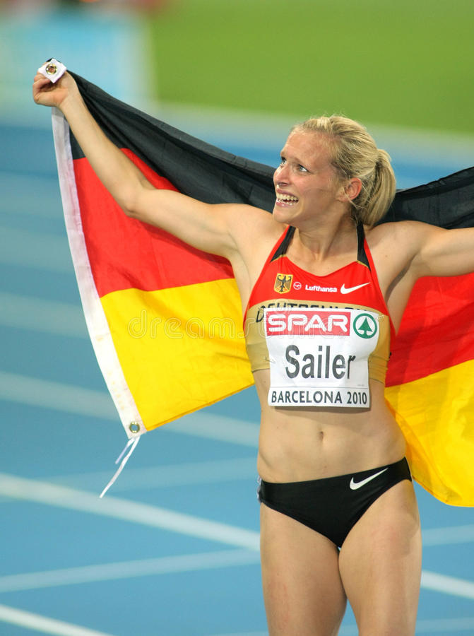 Verena Sailer of Germany stock photos