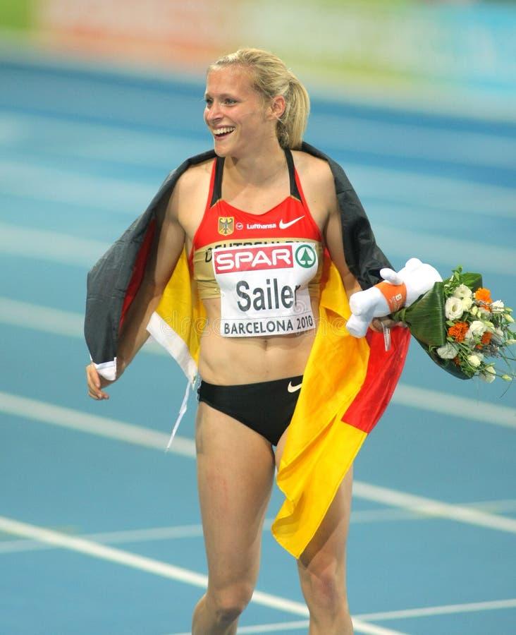 Verena Sailer von Deutschland lizenzfreies stockbild