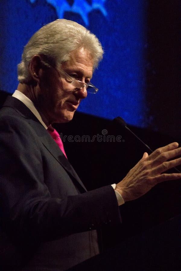 Verenigde Staten President Bill Clinton stock foto's