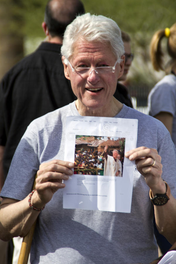 Verenigde Staten President Bill Clinton royalty-vrije stock foto's