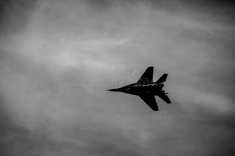 verfügbare Flugzeuge des Kampfes stockfoto