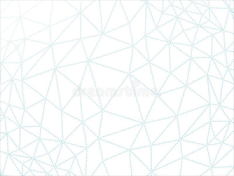 Verfomfaaid multiplayered de driehoekige lage poly van de de textuur abstracte vectorillustratie van het stijl geometrische patro royalty-vrije illustratie