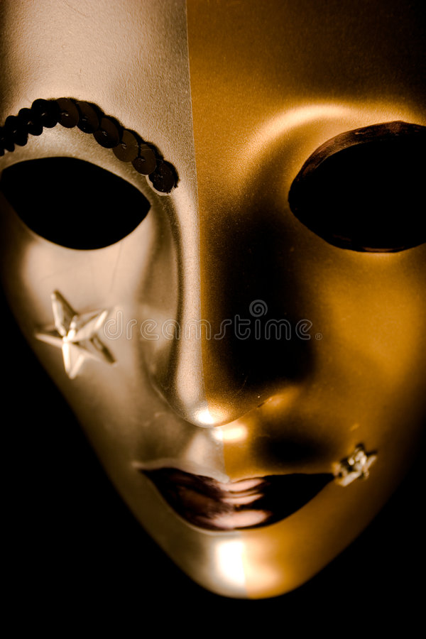 Verfraaid Venetiaans Masker stock fotografie
