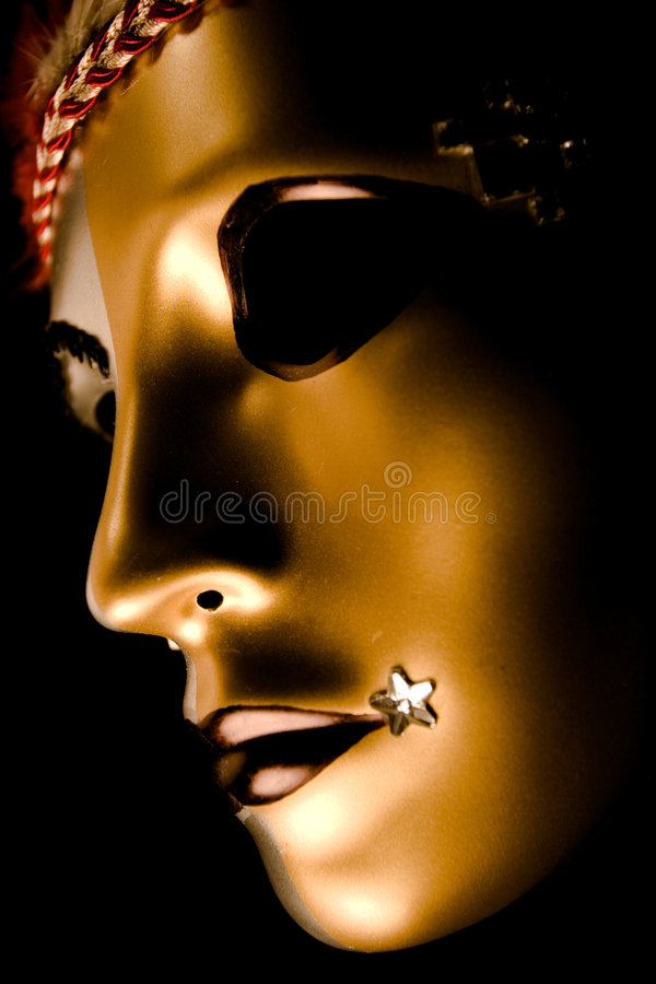 Verfraaid Venetiaans Masker stock afbeelding