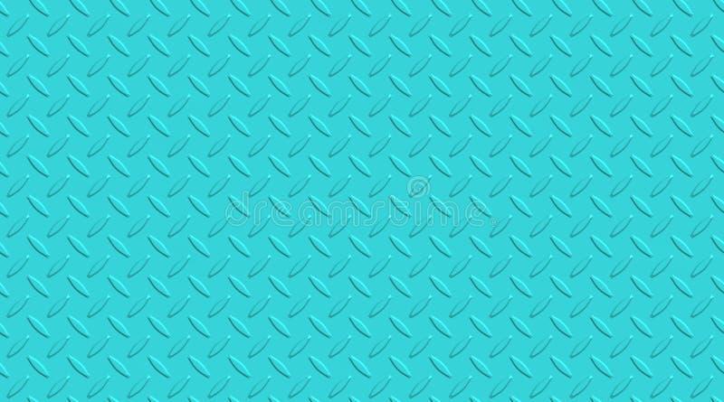 Verfraaide metaaloppervlakte Het metaal nagelt patroon vast BackgroundDecorated het samenvatting opgepoetste staal de oppervlakte stock illustratie