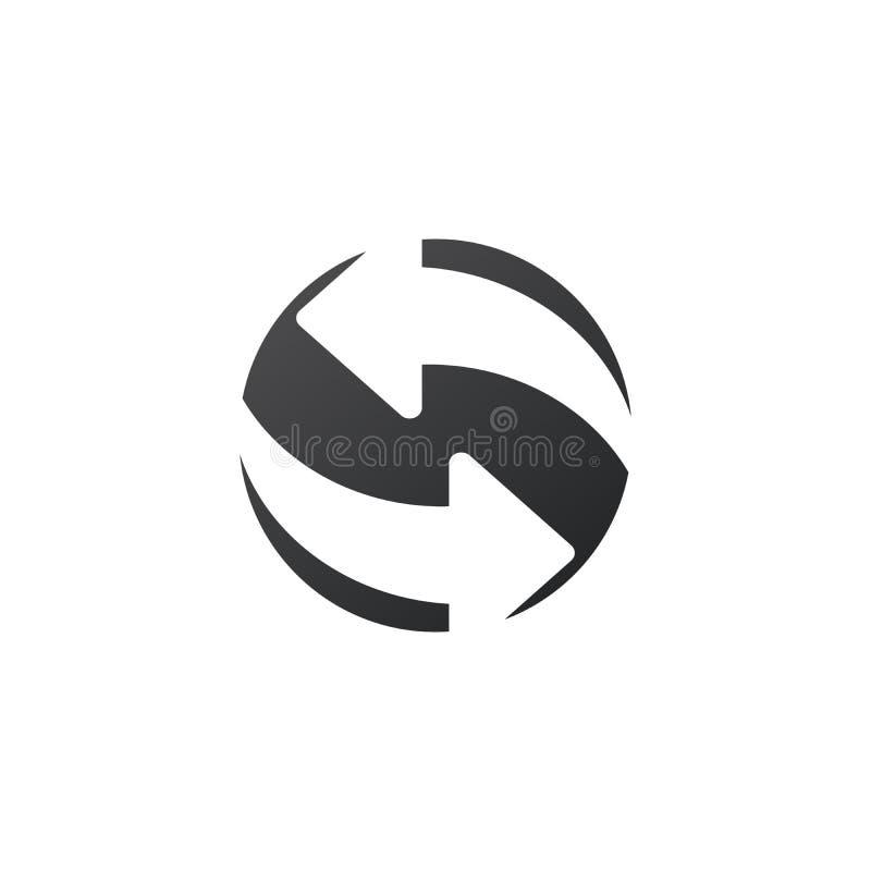 Verfris me, Herladen Ge?soleerd Vlak Web Mobiel Pictogram Vector illustratie die op witte achtergrond wordt ge?soleerdd stock illustratie