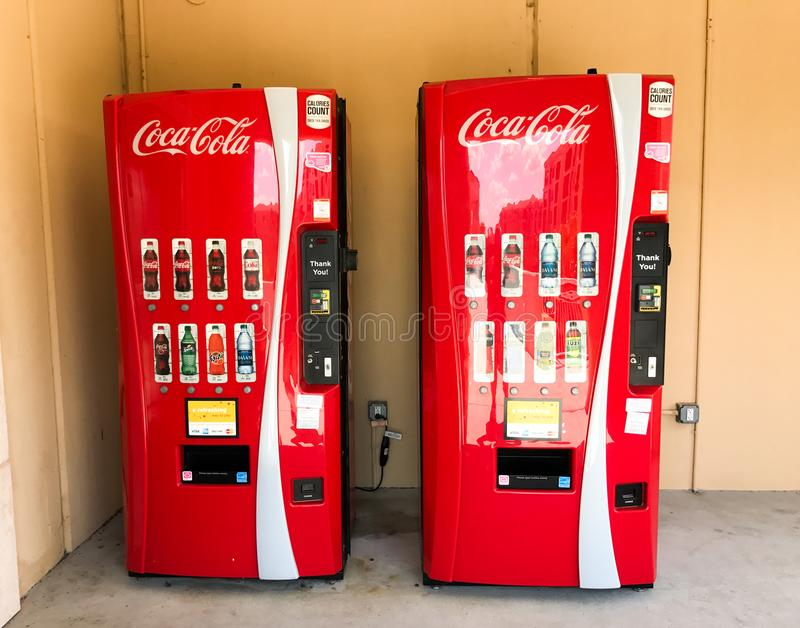 Verfrissend Cokes! royalty-vrije stock fotografie