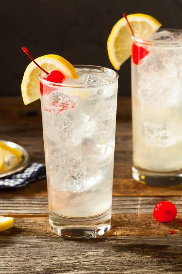 Verfrissend Klassiek Tom Collins Cocktail stock foto's