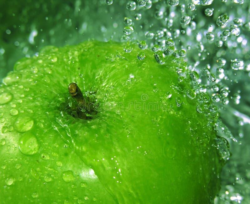 Verfrissende appel royalty-vrije stock afbeeldingen