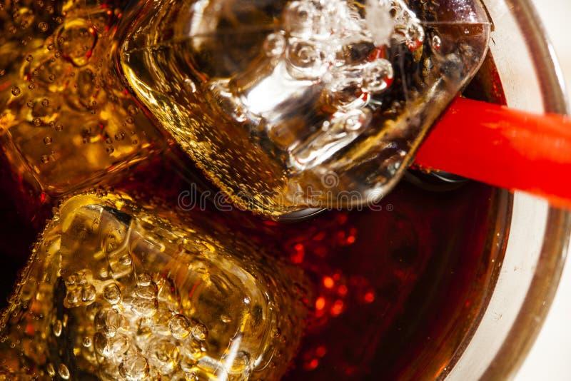 Verfrissende Ijskoude Frisdrank stock afbeelding