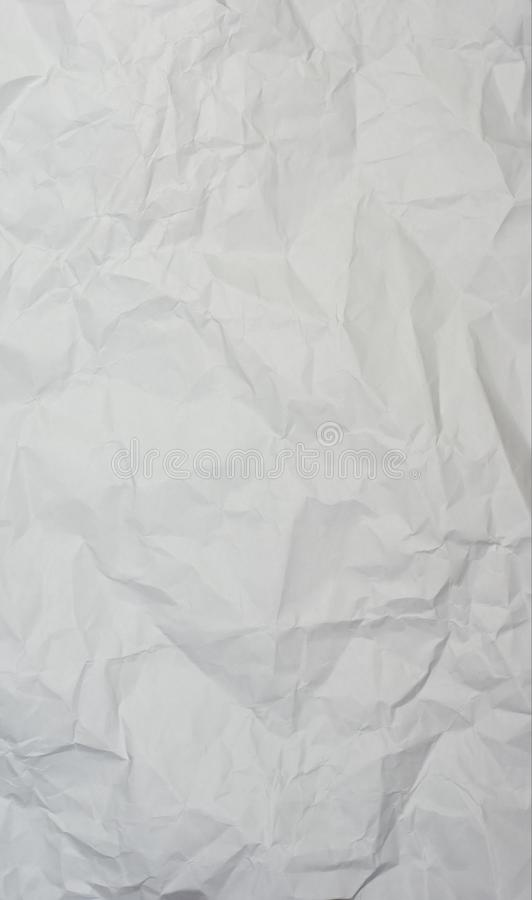 Verfrommeld document royalty-vrije stock foto