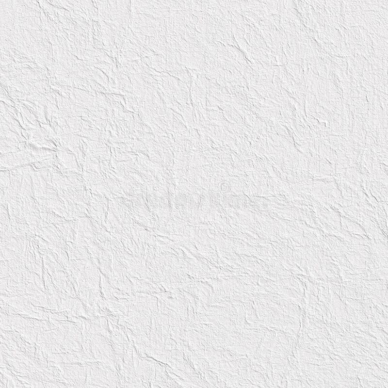 Verfrommeld document blad of gepleisterde muur stock illustratie