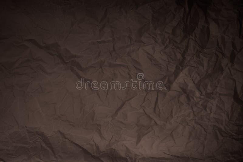 Verfrommelde document textuur stock fotografie