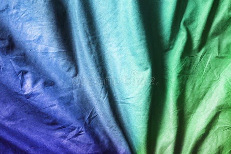 Verfrommelde kleurrijke doek royalty-vrije stock afbeeldingen