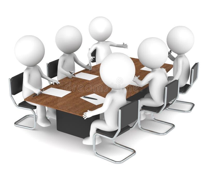 Vergadering royalty-vrije illustratie