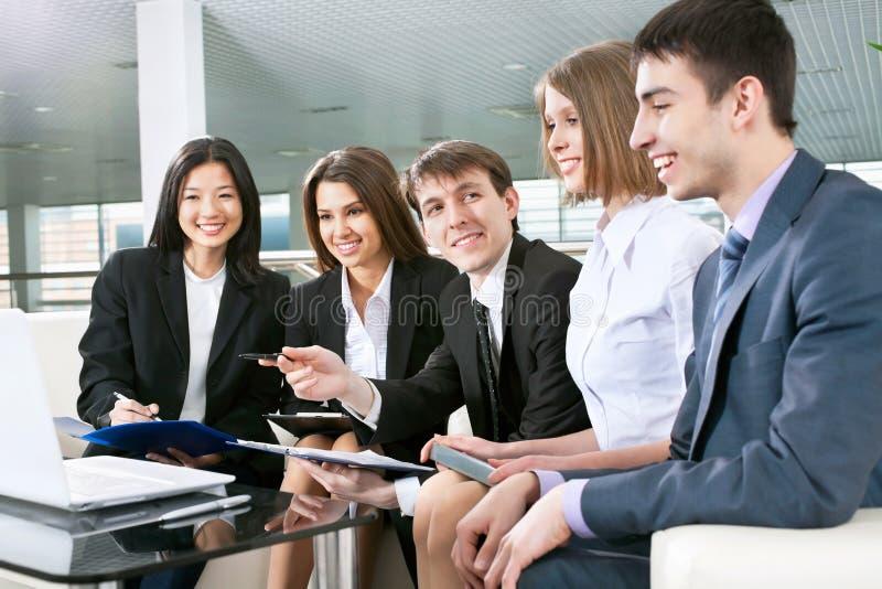 Vergadering royalty-vrije stock foto