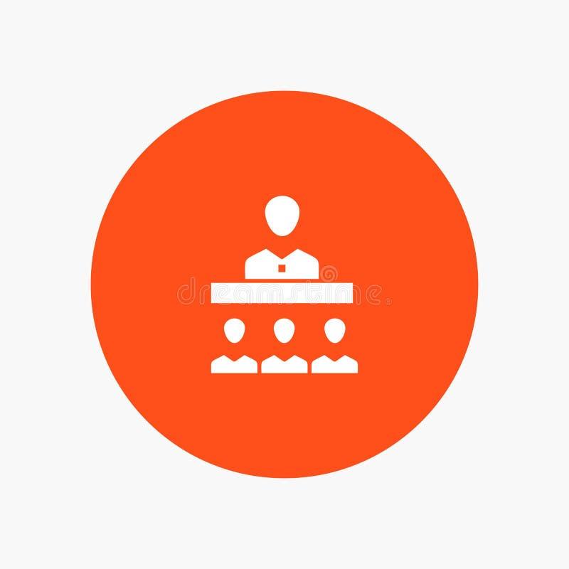 Vergadering, Team, Groepswerk, Bureau vector illustratie