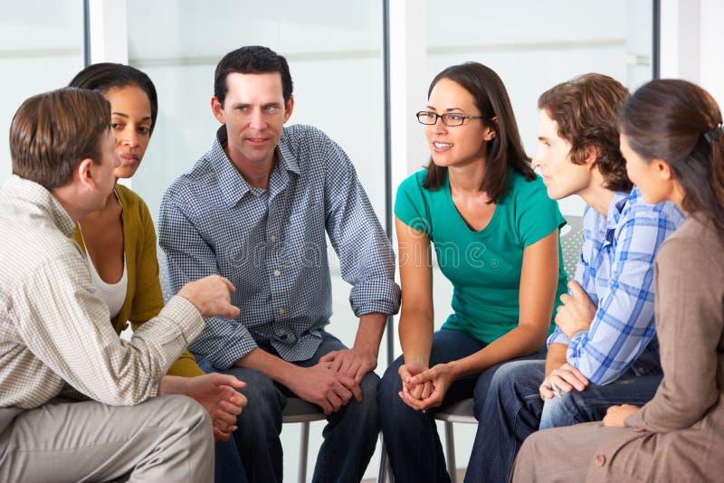 Vergadering van Steungroep