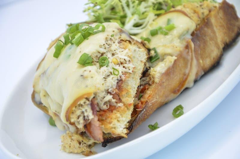 Vergaser-Sandwich lizenzfreie stockfotografie