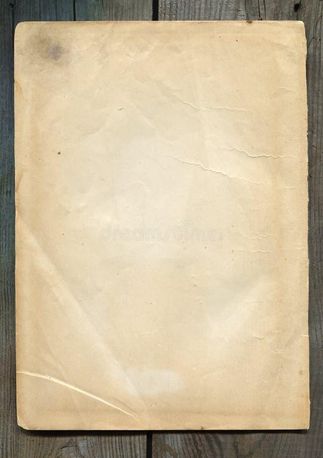 Vergeeld Document Royalty-vrije Stock Afbeeldingen